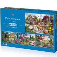 jigsaw, art, relaxing, puzzle, flowers, gardens