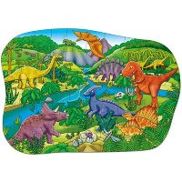puzzle, jigsaw, dinos, floor puzzle, jurassic