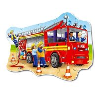 jigsaw, puzzle, emergency services, fire, learning