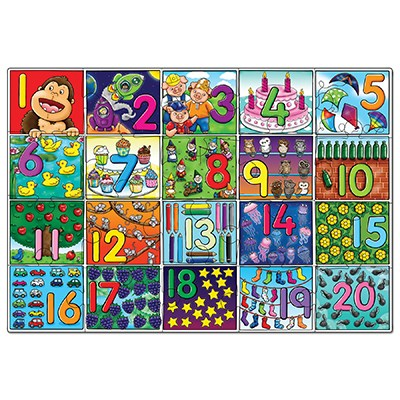 jigsaw, puzzle, counting, floor puzzle, learning