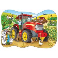 jigsaw, puzzle, talk about, floor puzzle, farming
