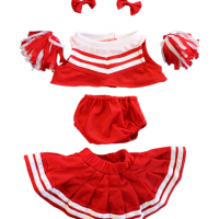 teddy, bear, costume, outfit, cheerleader