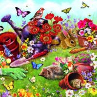 jigsaw, puzzle, relaxing, retro, hobby, therapy