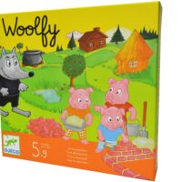 cooperative, family game, three little pigs, fairy tale