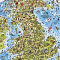 jigsaw, puzzle, world, art, relaxing