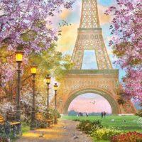 jigsaw, puzzle, relaxing,paris city, t