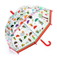 raining, wet weather, umbrella, djeco, gamescrusade, children