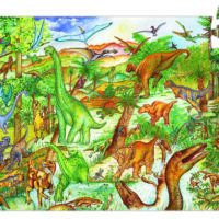 jigsaw, puzzle, learning, information, dinosaurs, harrogate