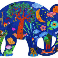 jigsaw, puzzle, jungle, elephant, harrogate