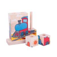 stack, vehicles, wooden, learning, fine motor, harrogate