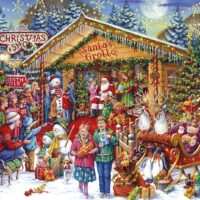 jigsaw, christmas, gibsons,