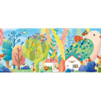 jigsaw, puzzle, jungle, relaxing, colours