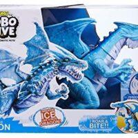robot toy, dragon, moving dragon, roaring dragon,