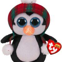 beanie, collectable, plush, soft, xmas, penguin, harrogate, ilkley