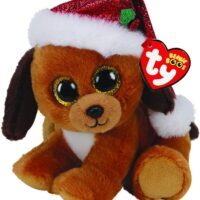beanie, collectable, plush, soft, xmas, dog, harrogate, ilkley