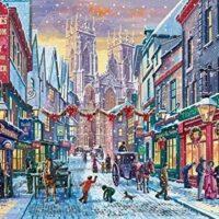jigsaw, york, festive, christmas, fun, relaxing, gift