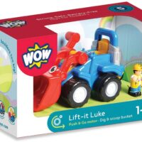 pre-school, digger, construction, toy, durable