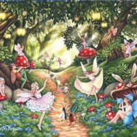 jigsaw, puzzle, hop, relaxing, hobby, extra large pieces