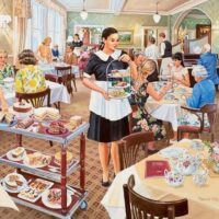jigsaw, puzzle, hop, relaxing, hobby,bettys, tearooms