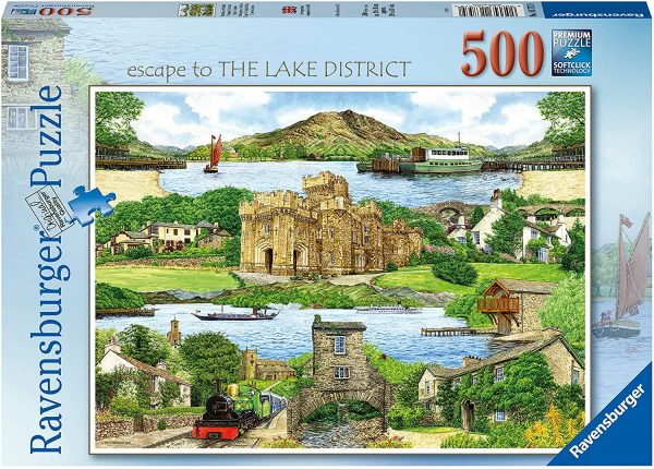 jigsaw, puzzle, the lakes, sights, cumbria