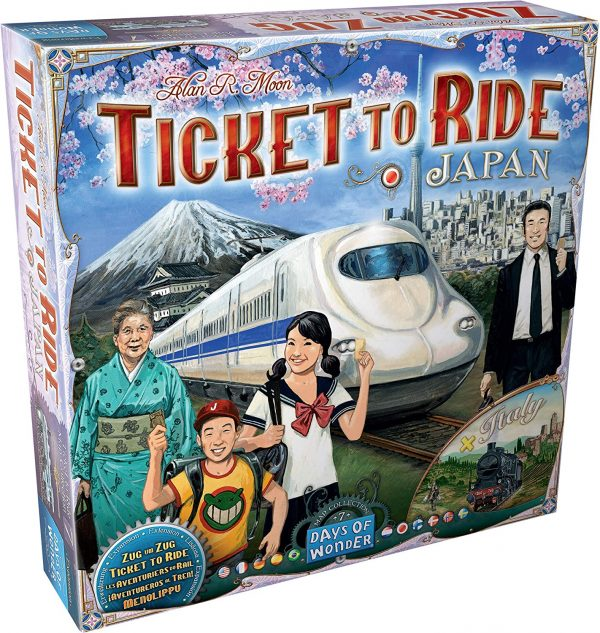 train game, japan, italy, days of wonder, family game