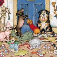 jigsaw, puzzle, dogs, relaxing, therapy, harrogate, ilkley