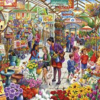 jigsaw, puzzle, summer, relaxing, hobby, gibsons