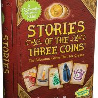 story telling, cooperative, family game, books