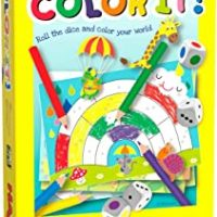 creative game, colouring, colour and write, game, haba