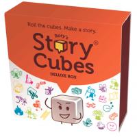 story telling, dice, pictures, imaginatio