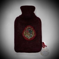 hogwarts, gift, hot water bottle, cosy, knitted