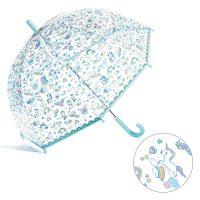 rainy day, umbrella, children, unicrns, djeco