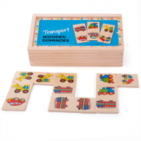 farm animals, dominoes, matching, wooden