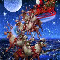 jigsaw, puzzle, christmas, piatnik, harrogate, ilkley